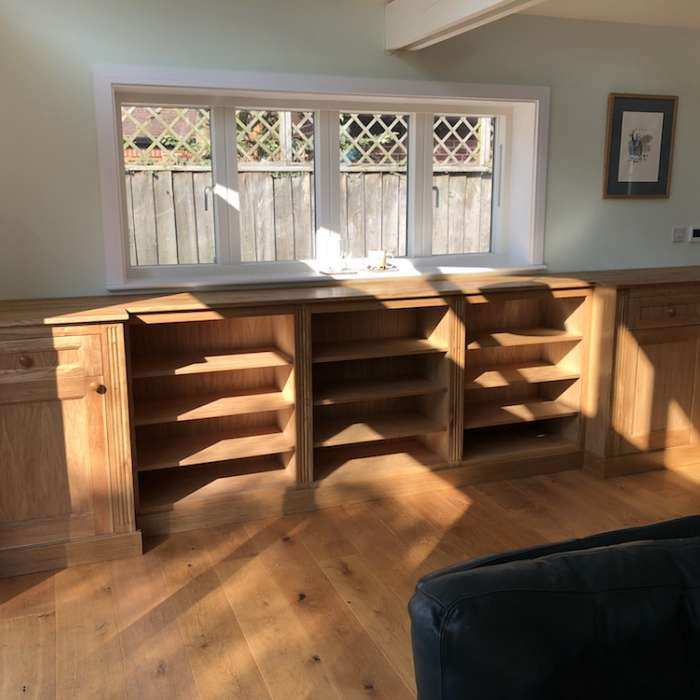 Solid Oak Cabinets and Shelves.jpg